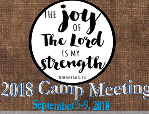 36TH ANNUAL HOUSE OF MERCY CAMP MEETING