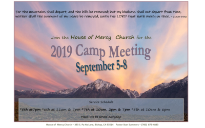 bishop camp meeting 2019